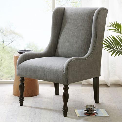 Madison Park Klaus Turned Leg Wing Chair