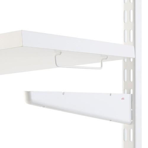 elfa Small Shelf Connectors White Set of 2