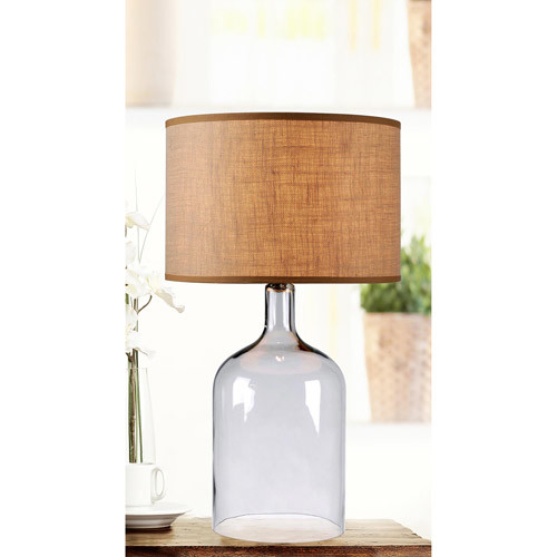 Kenroy Home Capri 30 in. Clear Glass Table Lamp