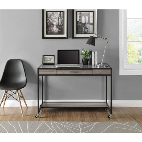 Dorel Sonoma Oak Mason Ridge Mobile Desk