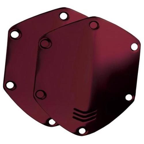 V-Moda Over-Ear Custom Metal Shield Kit for Crossfade Headphones, Crimson Red