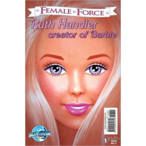 Female Force: Ruth Handler - Creator of Barbie (NOOK Comics with Zoom View)