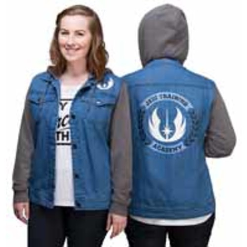 Jedi Training Academy Ladies Denim Jacket Exclusive Denim L