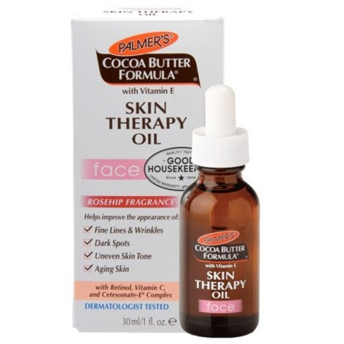 Palmer's Cocoa Butter Formula Rosehip Fragrance Skin Therapy Oil for Face, 1 fl oz