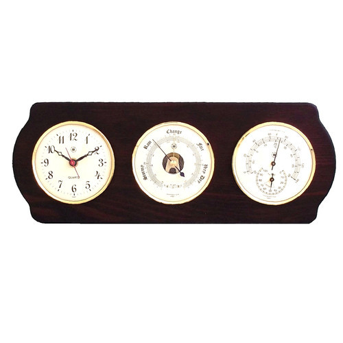 Mannon Weather Station Wall Clock