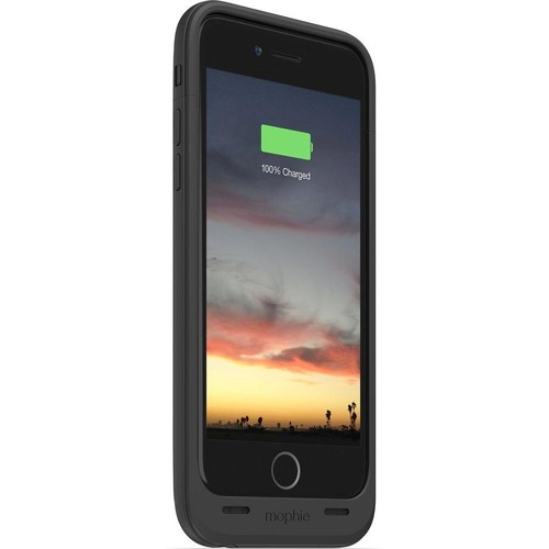 mophie juice pack air (Black) iPhone 6 case with built-in rechargeable backup battery