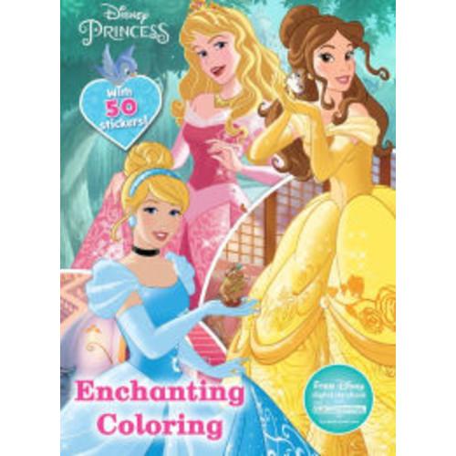 Enchanting Coloring (Disney Princess)