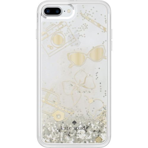 kate spade new york - Case for Apple iPhone 7 Plus - Clear/favorite things g