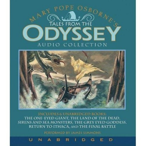 Tales from the Odyssey Audio Collection (Unabridged) (CD/Spoken Word) (Mary Pope Osborne)