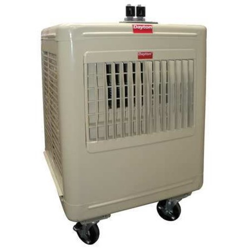 2800/2100 cfm Direct-Drive Portable Evaporative Cooler, Covers 1000 to 1400 sq. ft.