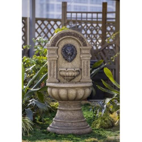 Jeco Inc. Resin/Fiberglass Classic Lion Head Fountain
