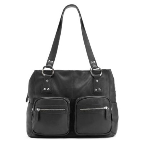 R&R Leather Pocket Leather Tote