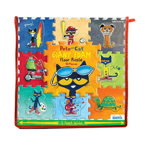 Pete the Cat 18-piece Giant Foam Floor Puzzle