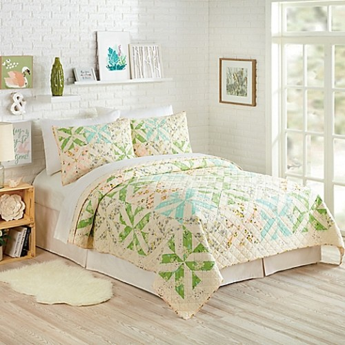 Bonnie Christine by Makers Collective Cascade Twin Quilt Set