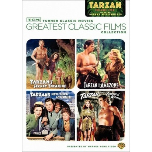 TCM Greatest Classic Films Collection: Johnny Weissmuller as Tarzan, Vol. 2 [2 Discs] [DVD]