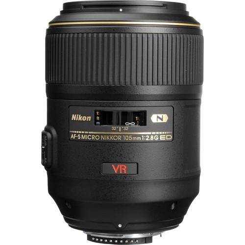 Nikon Micro-Nikkor AF-S 105mm f/2.8G IF ED VR Macro Lens