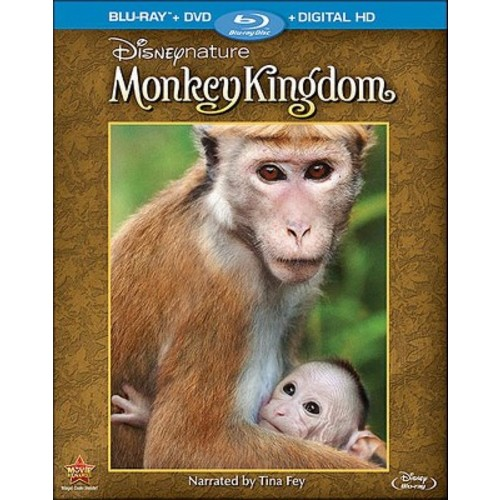 Disneynature: Monkey Kingdom [Blu-ray/DVD] [2 Discs] [2015]