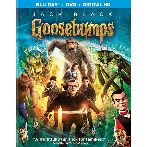 Goosebumps Blu-Ray Combo Pack (Blu-Ray/DVD/Digital HD)