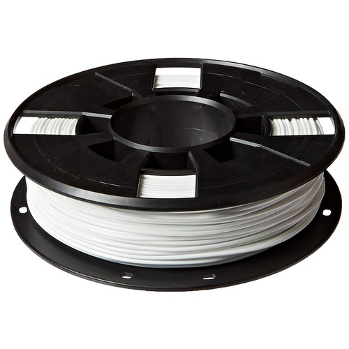 MakerBot PLA Filament, 1.75 mm Diameter, Small Spool, White