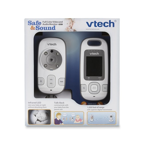 VTech Safe & Sound Digital Video u0026 Audio Monitor