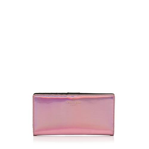 KATE SPADE NEW YORK Rainer Lane Stacy Metallic Wallet