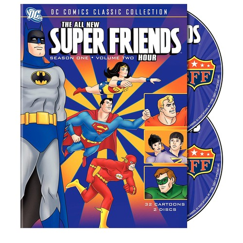 The All  New Super Friends Hour: Season 1, Vol. 2