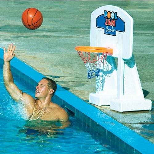 Pool Volleyball and Pool Basketball Game Combo