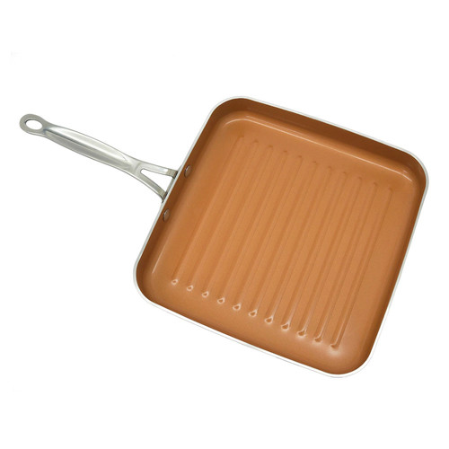 As Seen on TV Gotham Steel 10.5-in. Nonstick Titanium & Ceramic Square Grill Pan by Daniel Green