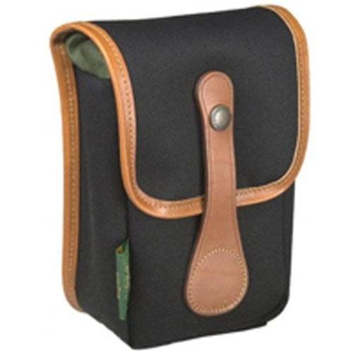 Billingham Avea 5 Pouch, Black Canvas, Tan Leather Trim 500301