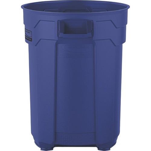 Suncast 55-Gallon Utility Trash Can  Blue,