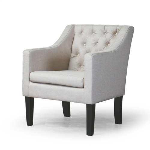 Baxton Studio Brittany Club Chair