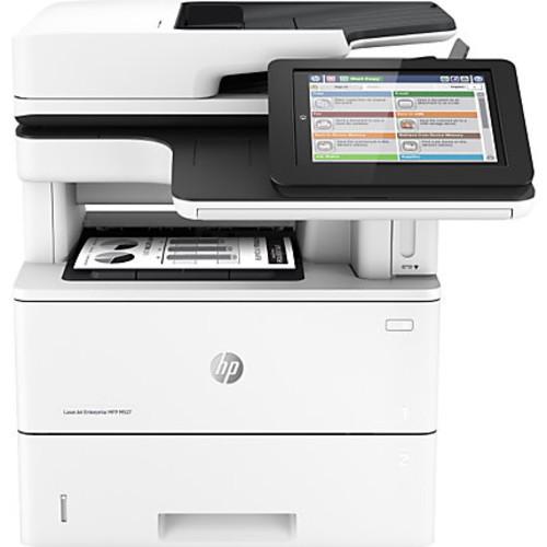 HP LaserJet M527dn Monochrome All-In-One Printer, Copier, Scanner