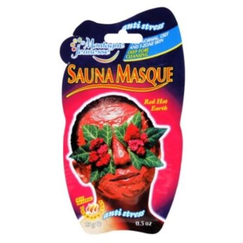 Montagne Jeunesse Sauna Masque, Red Hot Earth, 1.5 fl oz (15 g)