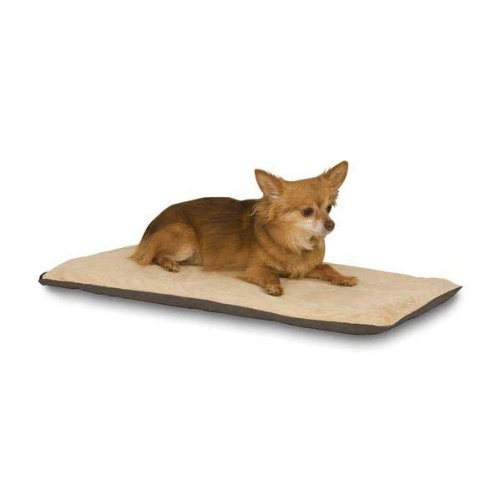 K&H Pet Products Thermo-Pet Mat - Heated Mat for Pets - 6 watts - MET Safety Listed [Mocha, Standard Packaging]