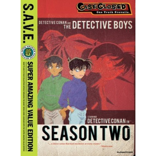 Case Closed: Season Two [S.A.V.E.] [4 Discs] [DVD]