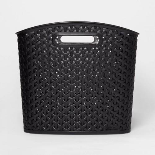 Y Weave Extra Large Storage Bin - Black - Room Essentials