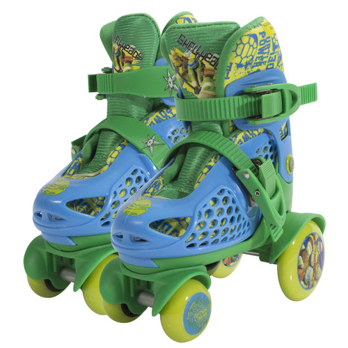 Playwheels Teenage Mutant Ninja Turtles Junior Size 6-9 Big Wheel Skates
