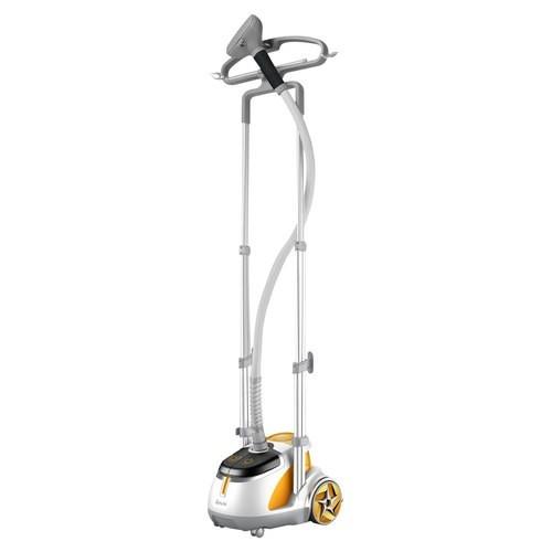 SALAV GS45-DJ Orange Professional Series Dual Bar Garment Steamer with Foot Pedals