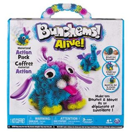 Spin Master Bunchems Alive - Motorized Action Pack