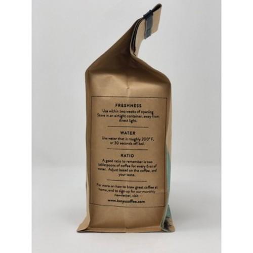 Tony's Coffee Backcountry Blend Whole Bean Coffee - 12oz