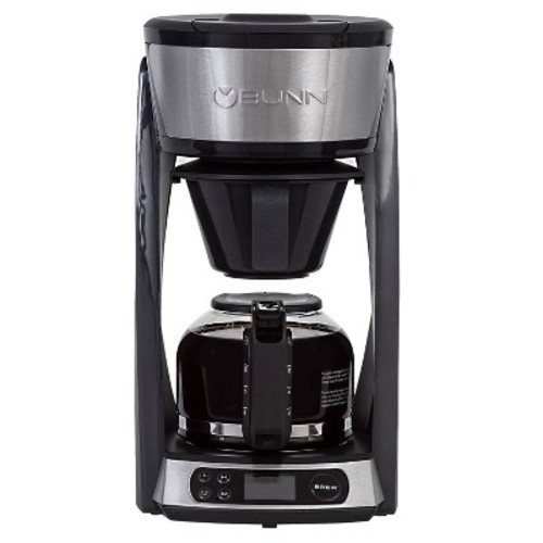BUNN Heat N' Brew 10-Cup Programmable Coffeemaker - Black