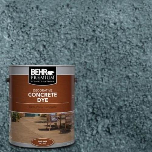BEHR Premium 1 gal. #CD-827 Late Sky Concrete Dye