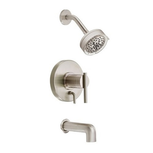 Danze Parma Brushed Nickel Tub and Shower Faucet