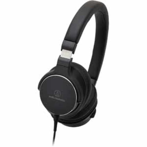 Audio-Technica On-Ear High-Resolution Audio Headphones - Black