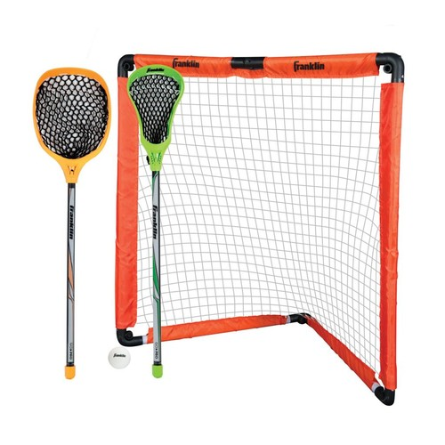 Franklin Sports Youth Lacrosse Goal & Stick Set