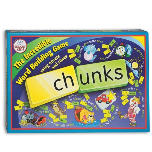 Didax Educational Resources Chunk Stacker Word Building Game [1]