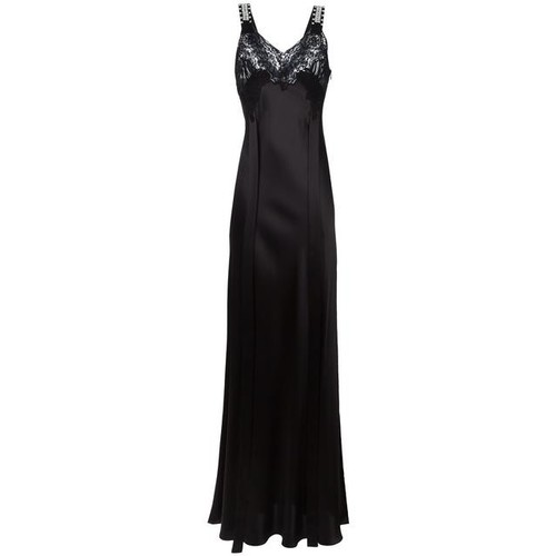 GIVENCHY Embellished Strap Evening Dress