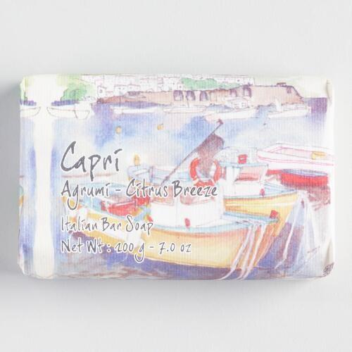 Capri Citrus Breeze Bar Soap