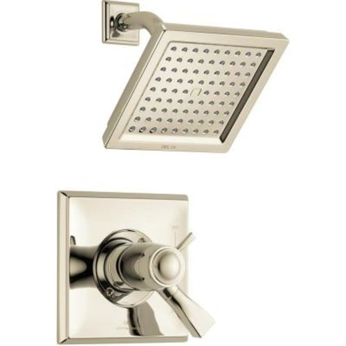 Delta Dryden TempAssure 17T Series Single-Handle Shower Faucet Trim Kit Only in Polished Nickel (Valve Not Included)