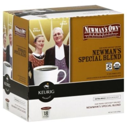 Keurig Newman's Own Special Blend Extra Bold 18 Count K-Cups